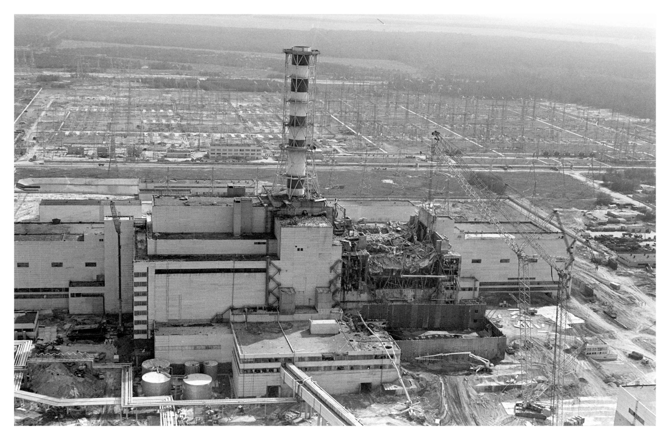 чернобыльской аварии фото