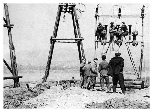 Тюменские энергетики в военное время