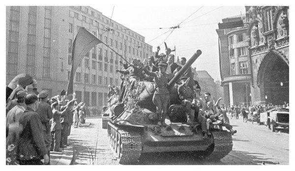 Пражская наступательная операция - заключительная в войне с Германией