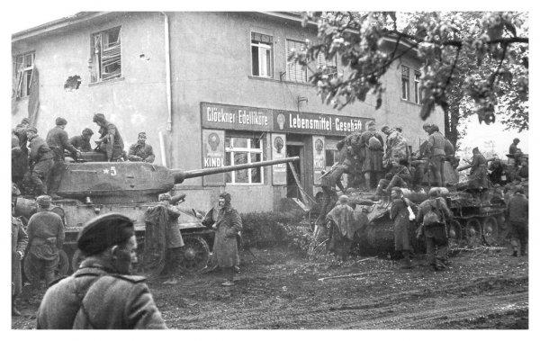 Разгром берлинской группировки немецко-фашистских войск. Взятие Берлина.