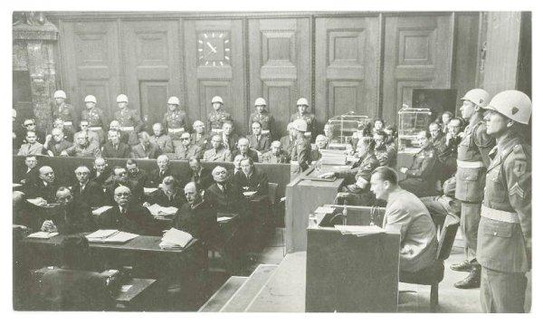 Наказание политических руководителей III рейха