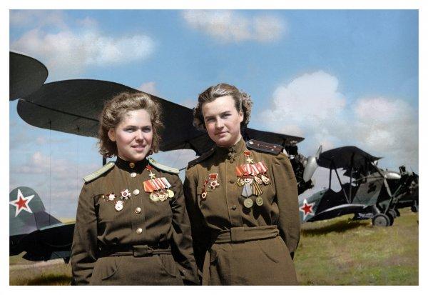 Женщины на фронтах Великой Отечественной войны