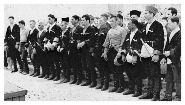 Национальные воинские формирования в годы войны